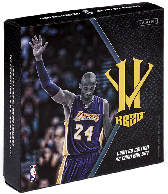 Panini offers tribute to Kobe Bryant with HeroVillain boxed set 4ee919871