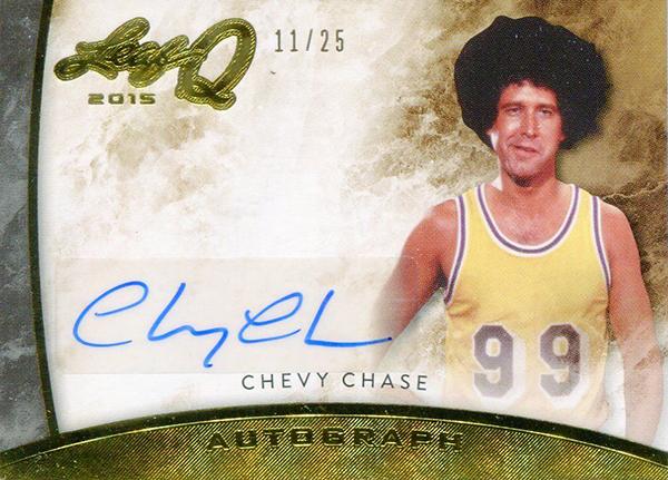 aaf53b43dbd9 Chevy Chase Fletch Autograph in 2015 leaf Q