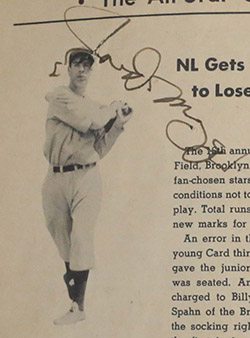 Large Collection Of 1950s Baseball Autographs Up For Auction