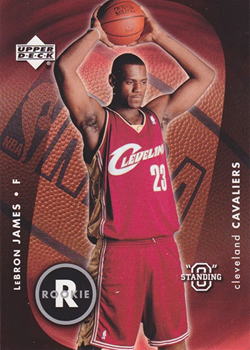 cef4bc9c6367 LeBron James Rookie Card Rankings  The Ultimate Guide
