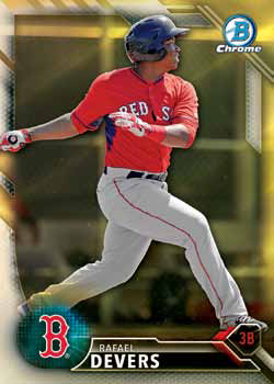 DANE DUNNING  2016 BOWMAN CHROME 1ST YEAR ROOKIE #BDC-104  NATIONALS//WHITE SOX!