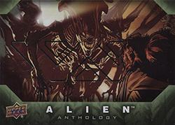 Upper Deck Alien Anthology Silver Stamped Parallel Base Card #16