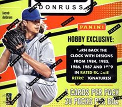 2016 Donruss Optic Baseball Checklist Details