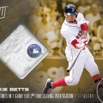 355 Mookie Betts Relic Gold