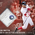 355 Mookie Betts Relic Red