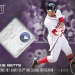 355 Mookie Betts Relic Purple
