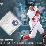 355 Mookie Betts Relic Blue