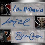 2017 Topps Star Wars Galactic Files Reborn Six Autograph A