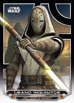 Star Wars Galactic Files Reborn Green Parallel Base Card TPM-4 Darth Maul