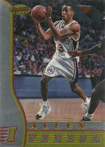 9f17cdc0418 Ranking the Most Valuable Allen Iverson Rookie Cards
