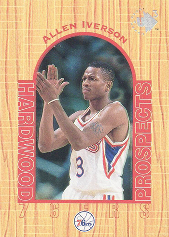 0cece535ea3 Ranking the Most Valuable Allen Iverson Rookie Cards
