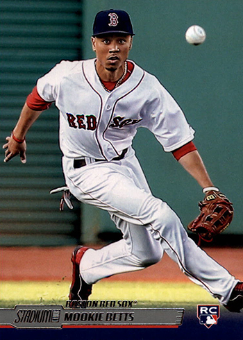 Mookie Betts Rookie Cards Ranked And Other Key Cards