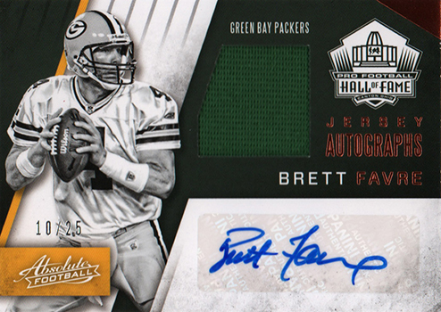 new styles 2a20c 5872b Win a 2016 Absolute Brett Favre Auto Jersey, 1/1 Emmitt Smith