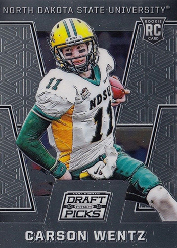 683c655a8a6 Most Valuable Carson Wentz Rookie Card Rankings