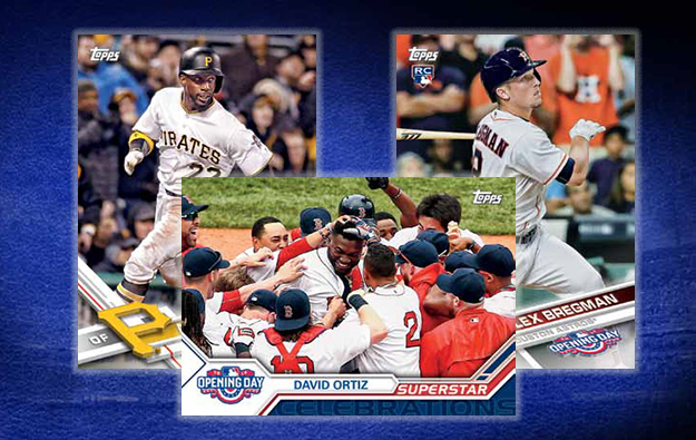 2017 Topps Opening Day Baseball Checklist Release Date
