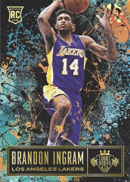 Basketbal Verzamelkaarten: sport 2015 Panini Court Kings Box Topper 5x7 Panoramics 14 Marcus Smart Boston Celtics