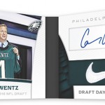 2016 Panini Limited Football Limited Cuts Dual Booklet