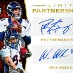 2016 Panini Limited Football Limited Partnership Dual Autographs