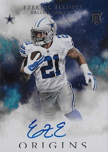 size 40 784ae ba1cd Ezekeil Elliott Rookie Cards Countdown and Guide
