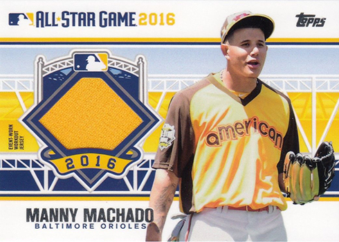 2016 Topps Update Series Baseball Checklist