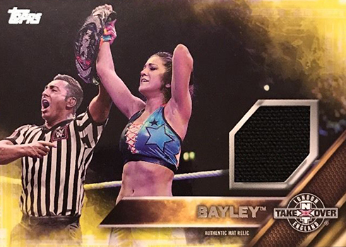2016 TOPPS WWE Scott Dawson Card NXT Londres Takeover Authentic Mat Relic