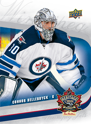 best website 9a269 b1c47 Upper Deck creates promo sets for the NHL Heritage Classic