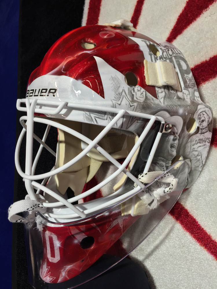 Braden Holtby S Tragically Hip Masks Sells For Over 27 000