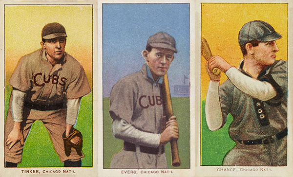 1908 Chicago Cubs Documented Through T206 Baseball Cards