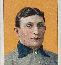 World Record 312 Million T206 Honus Wagner Baseball Card