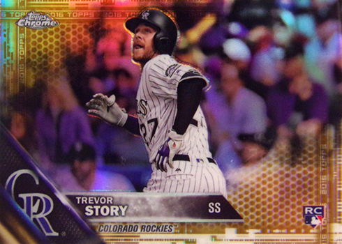 2016 Topps Chrome Update Baseball Checklist