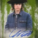 2016 Topps Walking Dead Season 5 Autographs Chandler Riggs