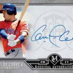 2017 Topps Museum Collection Baseball Archival Autograph