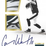 2016 Panini Encased Football Rookie Dual Swatch Signatures Gold