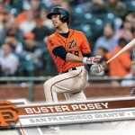 2017 Topps Series 2 Baseball Base Buster Posey