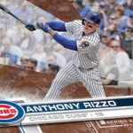 2017 Topps Series 2 Baseball Base Memorial Day Rizzo