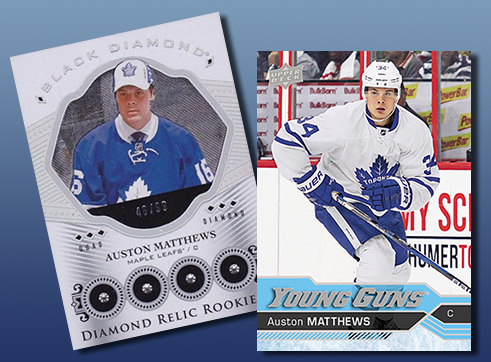Auston Matthews Rookie Cards And More