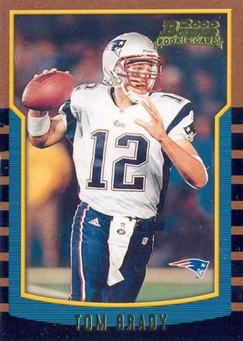 Tom Brady Rookie Card Rankings Countdown Of The Best Most Valuable