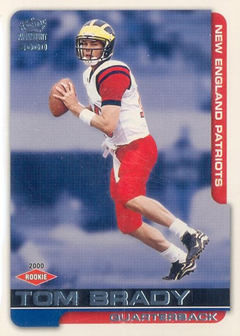 low priced 70bc5 9415b Tom Brady Rookie Card Rankings: Countdown of the Best & Most ...