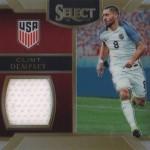 2016-17 Select Soccer Memorabilia Dempsey