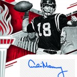 2017 Panini Elite Draft Picks Football Passing the Torch Autographs