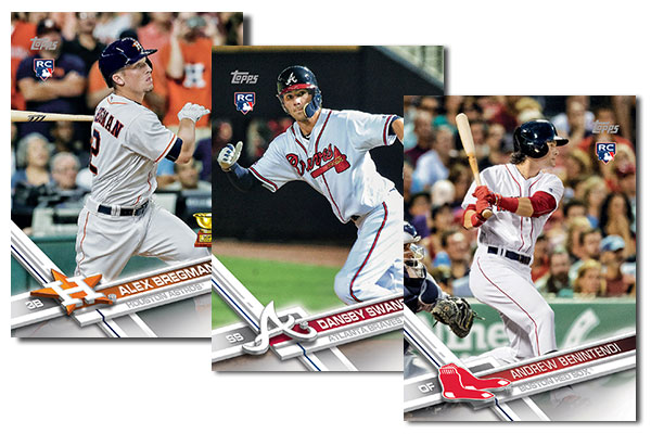 2017 Topps Baseball Rookie Cards