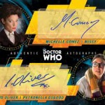 2017 Topps Doctor Who Signature Series Dual Autograph