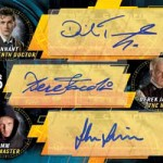 2017 Topps Doctor Who Signature Series Triple Autograph