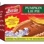 2 Big Lee Pumpkin Lie Pie