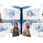 2017 Topps WWE Undisputed Quad Autograph