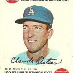 1968 Topps Game 12 Claude Osteen