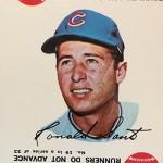 1968 Topps Game 19 Ron Santo