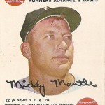 1968 Topps Game 2 Mickey Mantle