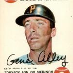1968 Topps Game 25 Gene Alley