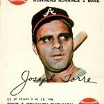 1968 Topps Game 31 Joe Torre